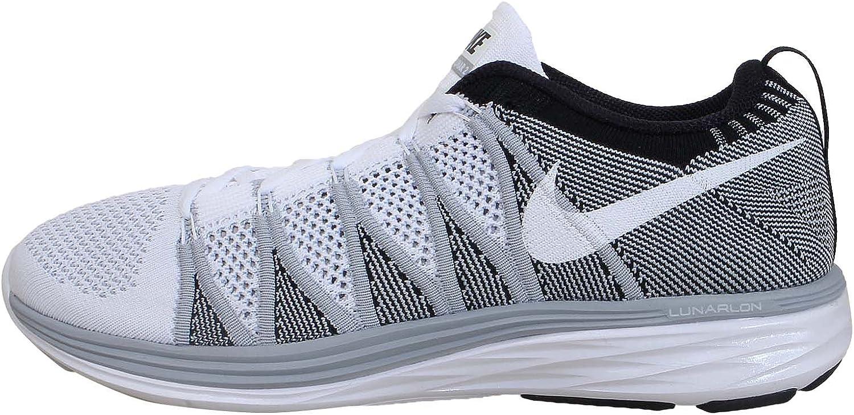 Nike Flyknit Lunar2, Zapatillas Deportivas, Hombre Multicolor Size: 42.5 EU: Amazon.es: Deportes y aire libre