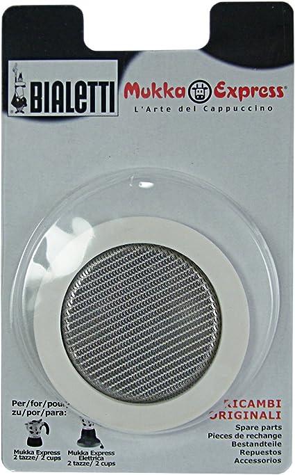 Bialetti Guarnizione e filtro per Mukka Express
