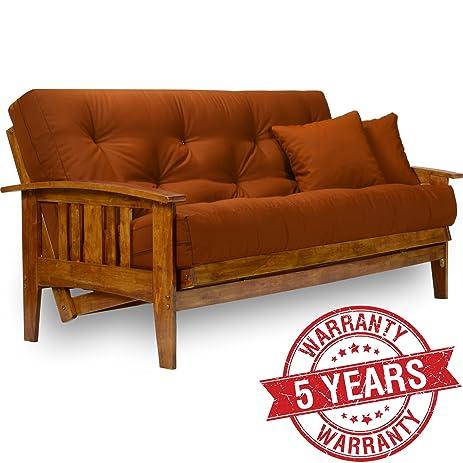 westfield wood futon frame full size - Wooden Futon Frame
