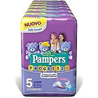 Pampers Progressi Junior, 120 Pannolini, Taglia 5 (11-25 kg)
