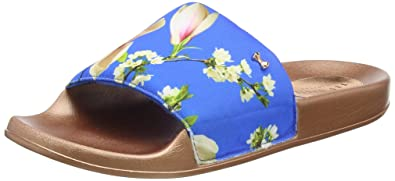 d3e45e8b77b7 TED BAKER WOMENS AVELINE POOL SLIDER SANDALS  Amazon.co.uk  Shoes   Bags