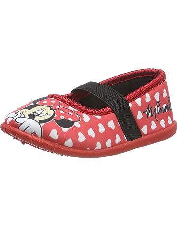 0cb4f08ea03 Disney Girls Kids Ballerina Houseshoes Low-Top Slippers