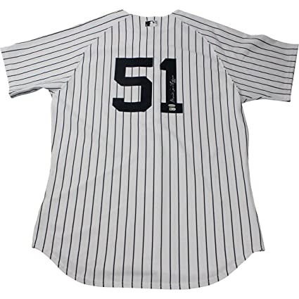 0682abb1653 Image Unavailable. Image not available for. Color  Bernie Williams Signed  New York Yankees Authentic Home Jersey ...