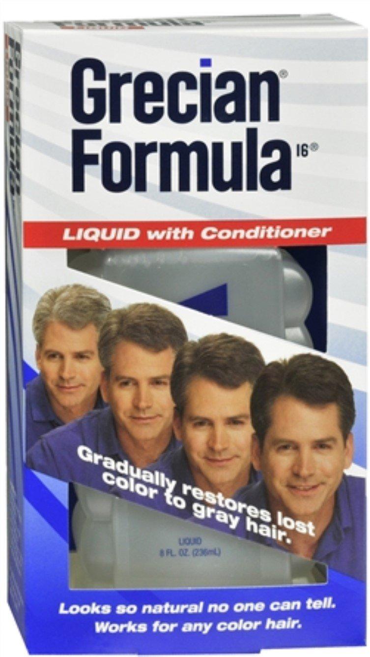 GRECIAN Formula 16 Liquid With Conditioner 8 oz (Pack of 7)