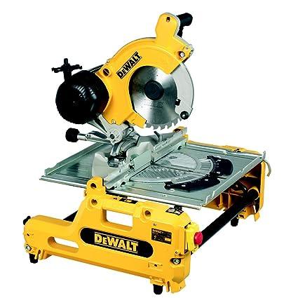 DeWalt DW743N 240V 250mm Combination Saw Amazoncouk DIY Tools
