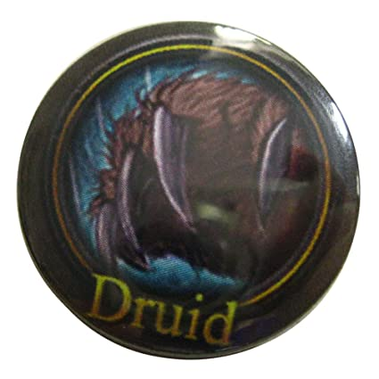 Amazon World Of Warcraft Druid Class Symbol Pinback Button