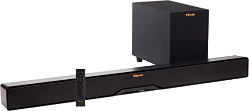 Klipsch R-4B II Sound Bar and Wireless Subwoofer