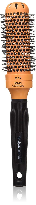 Scalpmaster 1 3/4-Inch Ceramic Ionic Brush, Orange