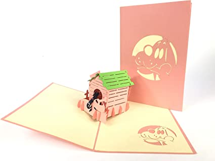Marraine Fee D Anniversaire Carte De Vœux 3d Pop Up Anniversaire Bebe Joyeux Anniversaire Pour La Fete De Paques Thank You Saint Valentin Mariage Kirigami Papier Craft Cartes Postales Amazon Fr Fournitures De Bureau