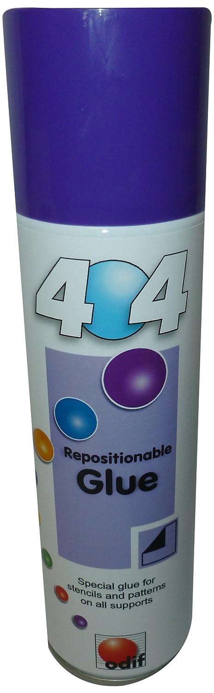 404 250 ml 1-Piece Repositionable Metal Spray Can ODIF 404250ml