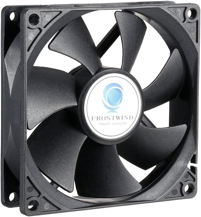 uxcell 92mm Standard Case Fan CPU Cooler 92 mm PWM Function Computer Cooling Fan with 4-Pin Connector