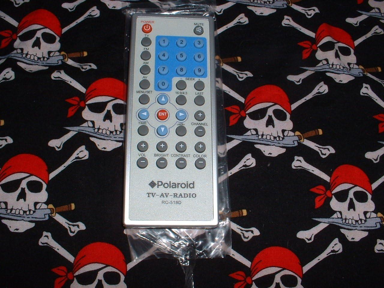Polaroid RC518D RC-518D - Mando a Distancia para televisor LCD con Pantalla de bajo encimera (Modelo FCM-0700A): Amazon.es: Electrónica