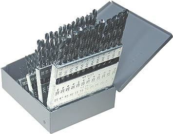 Alfa Tools TS50035 29//32 Morse Taper 3 High-Speed Steel Taper Shank Drill with Black Oxide Finish