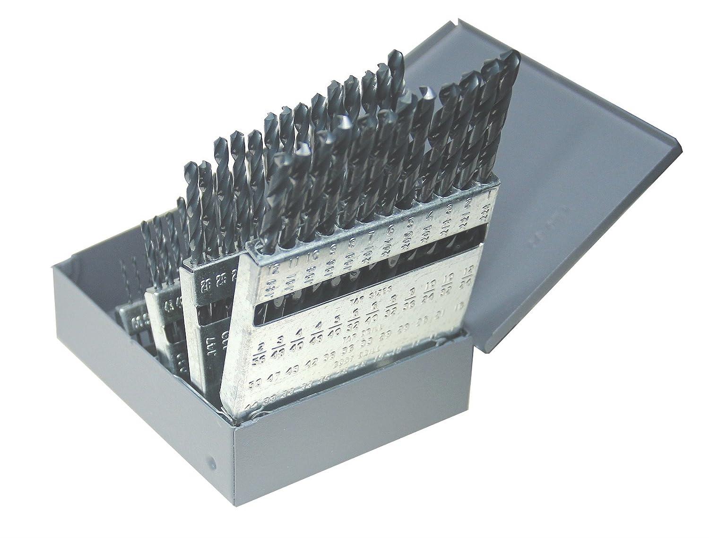 High Speed Steel Bright Finish 31//64 Diameter Kodiak Cutting Tools KCT118116 USA Made Extra Long Length Drill Bit