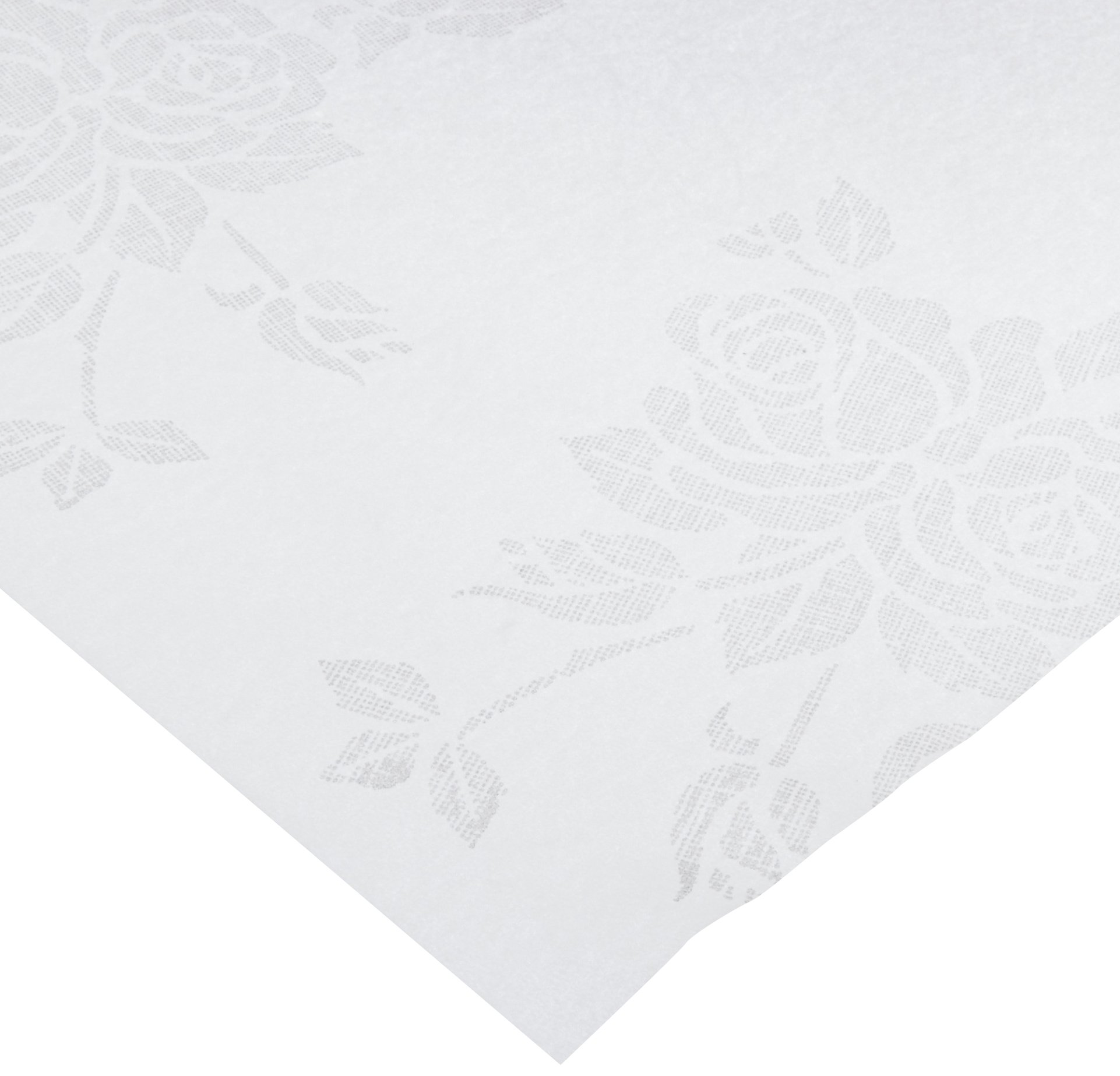 Hoffmaster 236420 Linen-Like Color In Depth Tablecover, 82'' Length x 82'' Width, Silver Prestige (Case of 24) by Hoffmaster (Image #2)