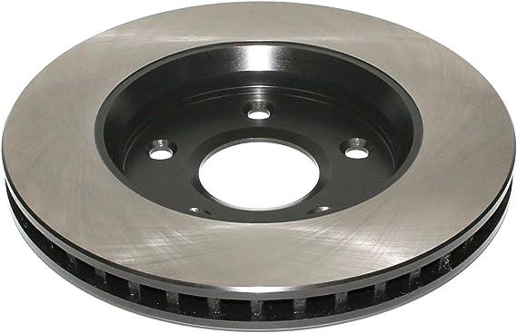 DuraGo BR90117802 Front Vented Disc Premium Electrophoretic Brake Rotor