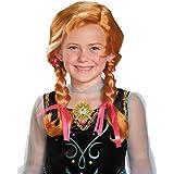 Disguise Disneys Frozen Anna Child Wig Girls Costume, One Size Child