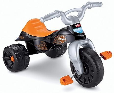 0eb1bd673e6a Amazon.com  Fisher-Price Harley-Davidson Tough Trike  Amazon Exclusive    Toys   Games