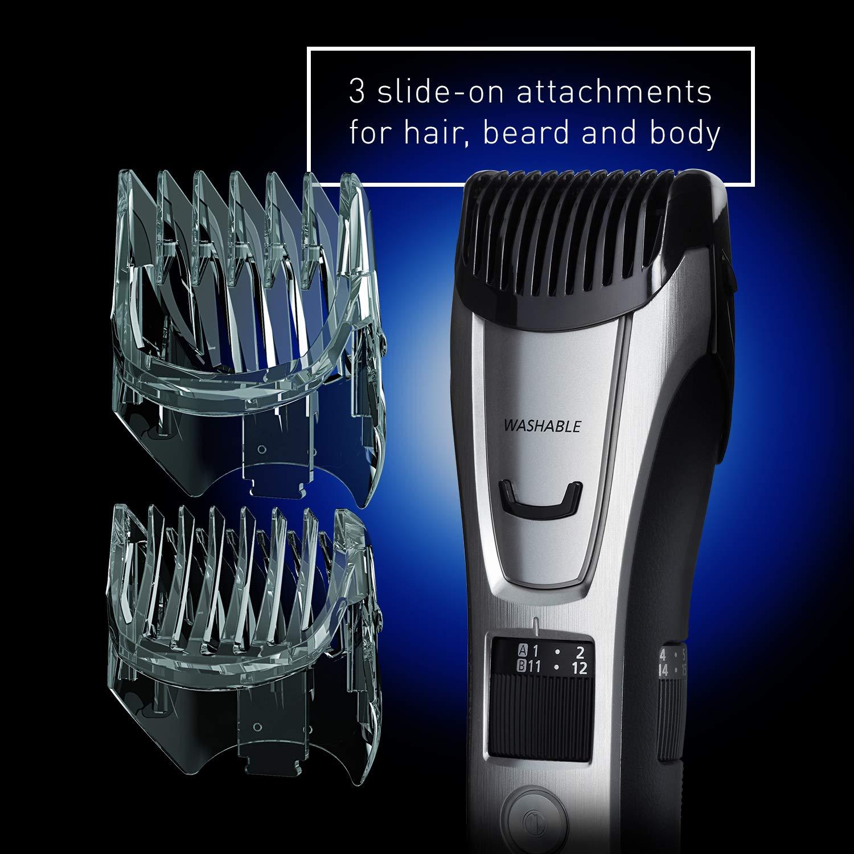 Panasonic Body and Beard Trimmer for Men ER-GB80-S