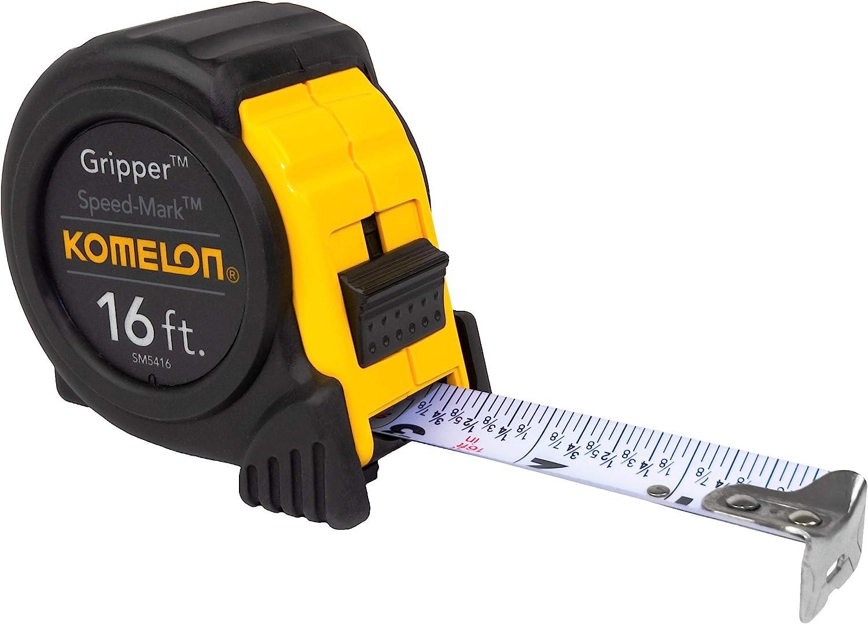 Komelon Speed Mark Gripper Tape Measure