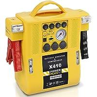 POWERPLUS POWX410 Arrancador de baterías multifunción 4 en