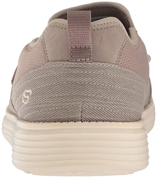 Skechers Men's Status Delton Boat Shoe, TPE, 9.5 Medium US