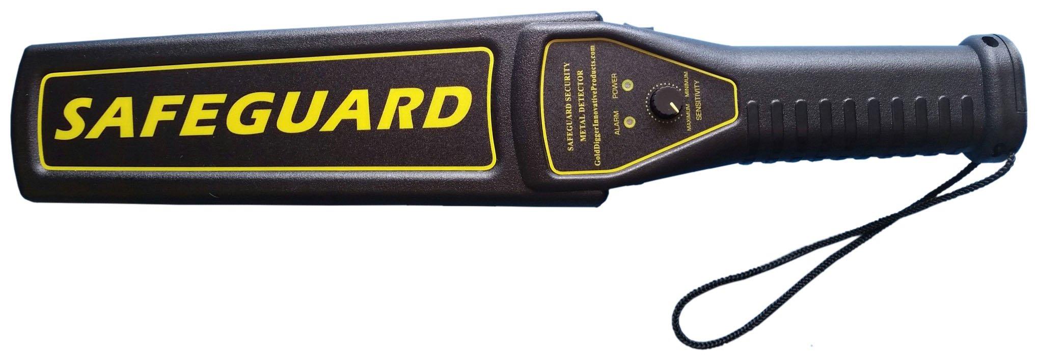 Safeguard Handheld Security Metal Detector