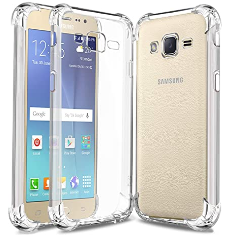 check out eefd4 6fffa Eurosale Samsung Galaxy J2 Back Case Cover Transparent: Amazon.in ...