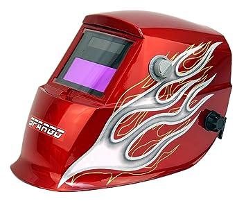 Oscurecimiento automático Spargo soldadura ojos Protección Solar casco corte con Gas Tig soldador Mig con varios diseños con función de molienda: Amazon.es: ...