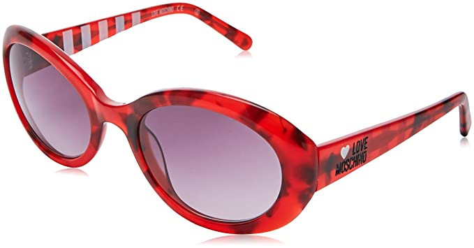 Moschino MO-L-504S-03 Gafas de sol, Red, 53: Amazon.es: Ropa ...