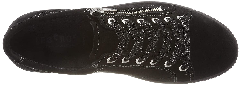 Legero Damen 00) Tanaro Sneaker Schwarz (Schwarz 00) Damen de0d55