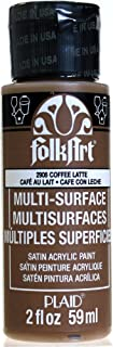 product image for FolkArt Multi-Surface Paint in Assorted Colors (2 oz), 2906, Coffee Latte