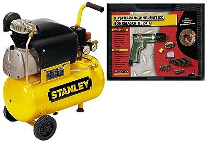 Compresor de aire Stanley D210/8/24 24 LT, lubricado, 2 HP