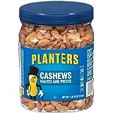 Planters Cashew Halves & Pieces, Salted, 26 Ounce Jar