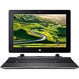 """Acer Switch One SW1-011-17JG PC Portable 2-en-1 10"""" Noir (Intel Atom, 2 Go de RAM, 64 Go de mémoire, Windows 10 Home)"""