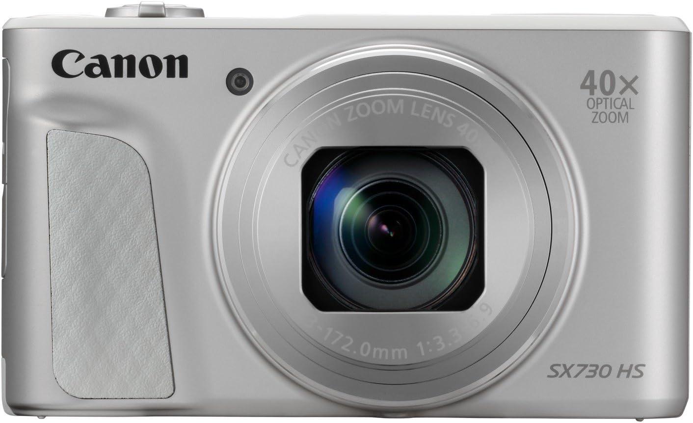 Canon PowerShot SX730 HS - Cámara digital de 20.3 MP (Video Full HD, WiFi, Bluetooth), Plata: Canon: Amazon.es: Electrónica
