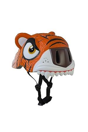 ANC Toys - Casco Infantil Orange Tiger/Tigre Naranja, 49/55
