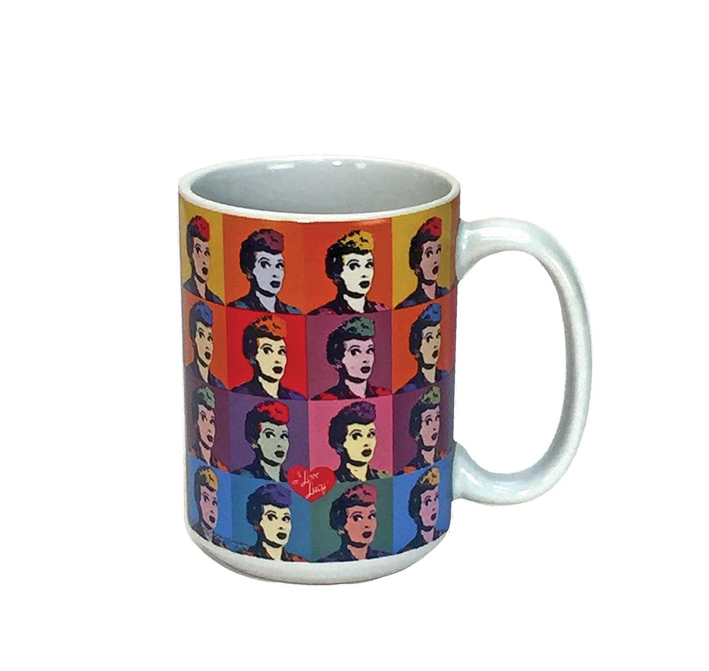 Spoontiques I Love Lucy ceramic Coffee Mug, Multicolor