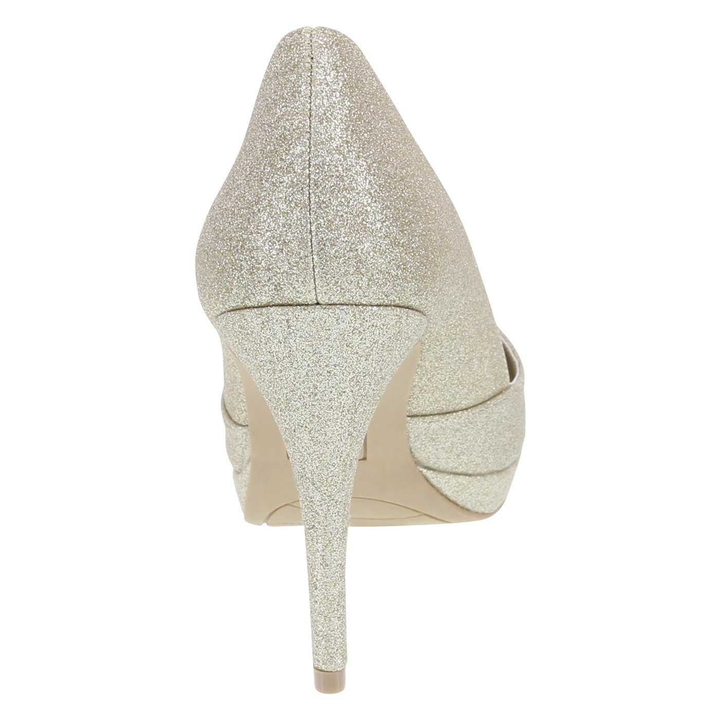 Fioni Gold Women's Jive Platform Heel 7.5 Regular by Fioni (Image #3)