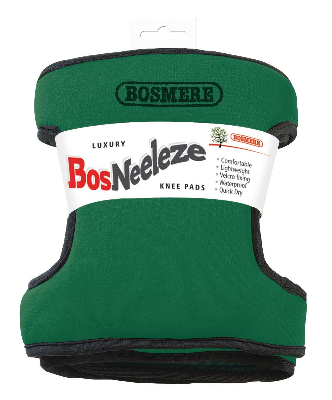 Bosmere G127G Bosneeleze Luxury Garden Knee Pads, Dark Green