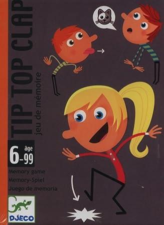 Djeco- Tip Top Clap, Juego de Cartas, (35120): Amazon.es ...