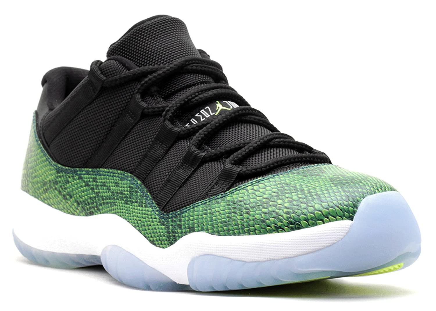uk availability f1ef5 76907 Jordan 11 Retro Low Men's Shoes Black-Nightshade-White-Volt ice 528895-033