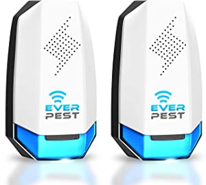 Ever Pest Ultrasonic Eco-Friendly Electronic Pest Repeller