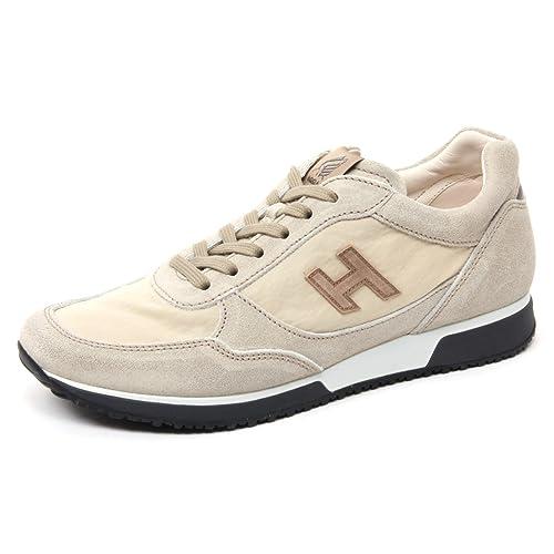 4495Q sneaker HOGAN H205 OLYMPIA grigio rosso scarpa uomo shoe men [10] IGSsafea