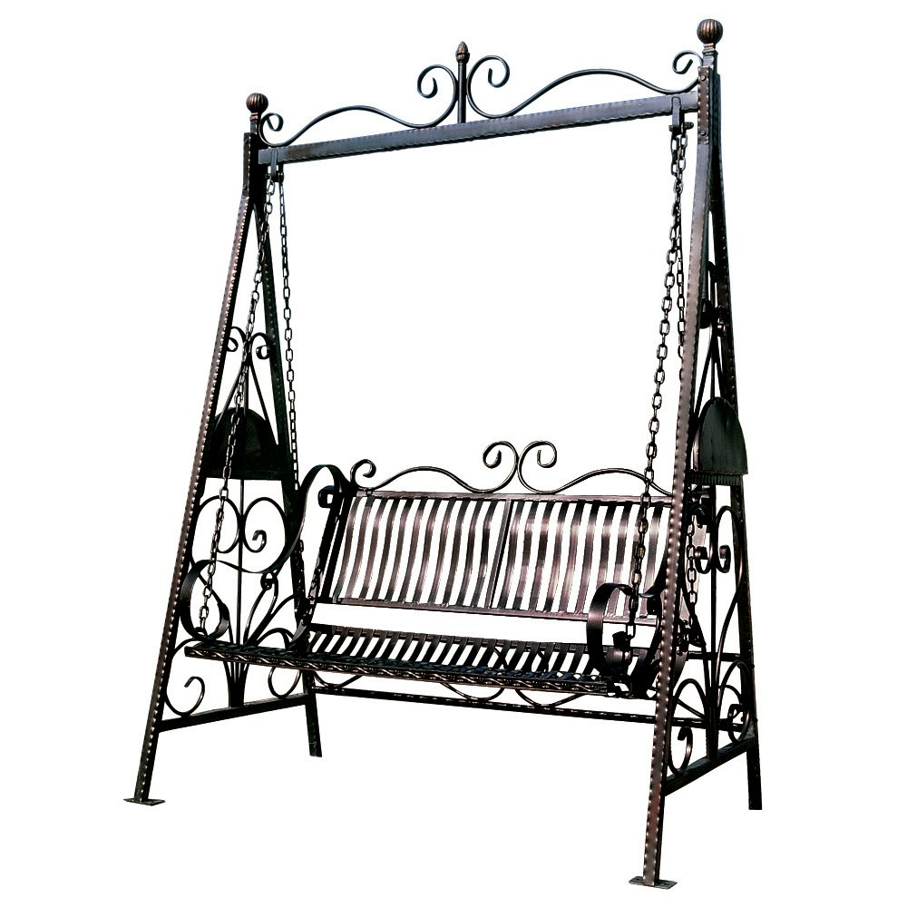 Lovely Amazon.com : Design Toscano Rockaway Garden Swing : Porch Swings : Garden U0026  Outdoor