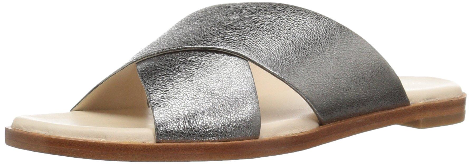 Cole Haan Women's Anica Criss Cross Sandal, Dark Grey, 10.5 B US