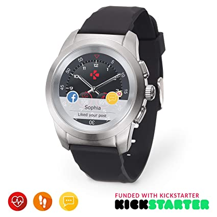 Amazon.com: MyKronoz zetime Original Smartwatch híbrido 44 ...