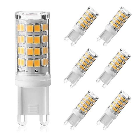 Yaeer Bombillas LED G9, 3 W, 380 lm, sin parpadeo, sin estroboscópico
