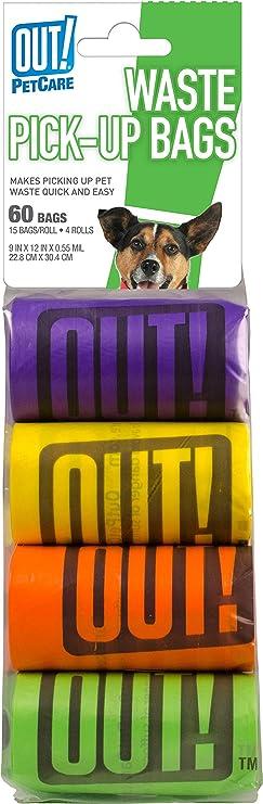 OCEANO Bolsas para excrementos de Perro 20 Rollos Total 300 Bolsas Poop Bag para Perro Mascotas Animales Dom/ésticos