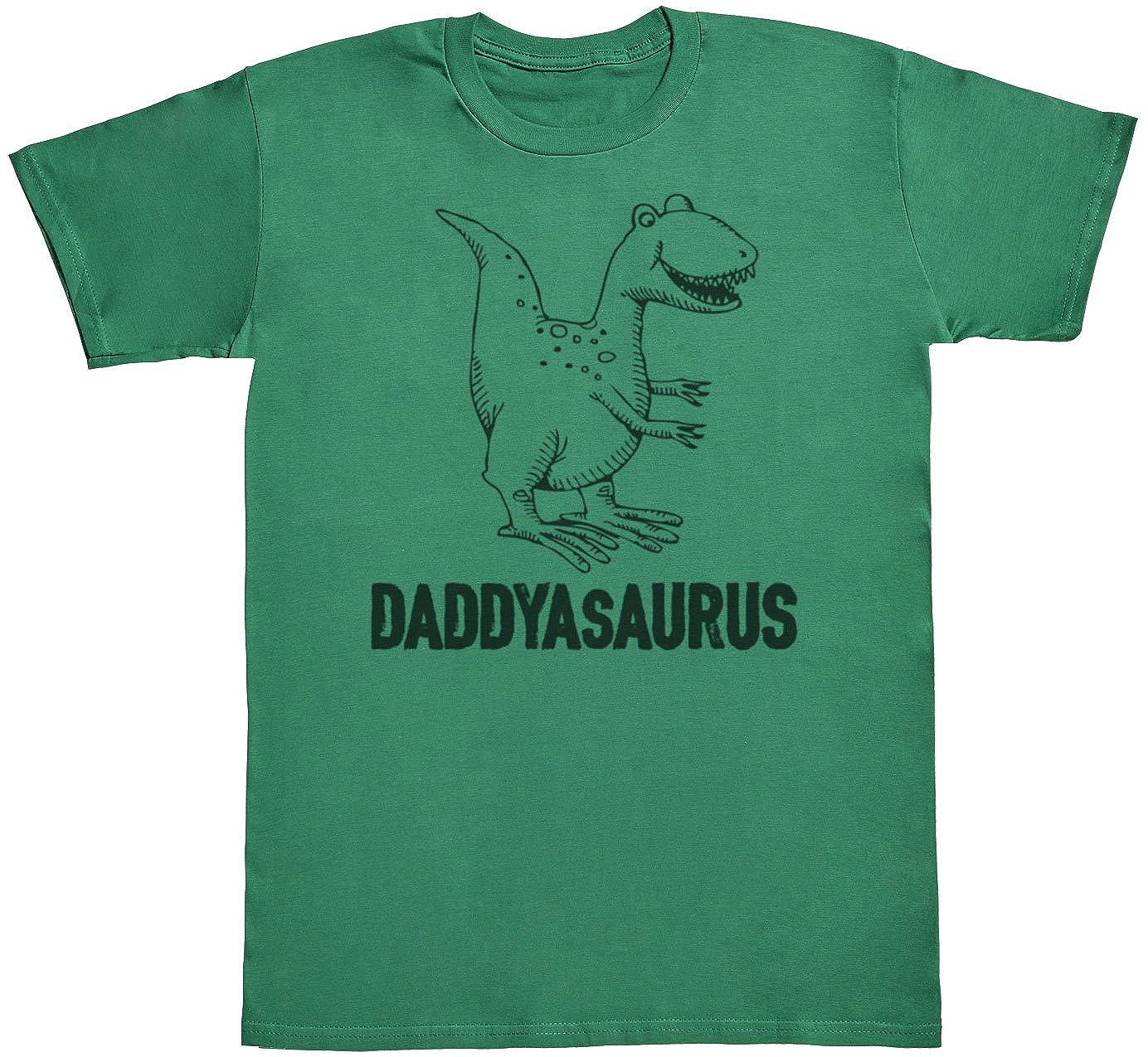 regalo para padres y beb/és en un cuerpo para beb/és y una camiseta de hombre a juego Daddysaurus /& Babysaurus